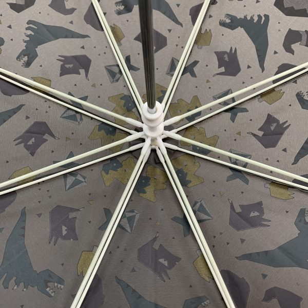 Colour changing Umbrella for Kids - Animals ribs