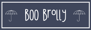 Boo Brolly Umbrella logo